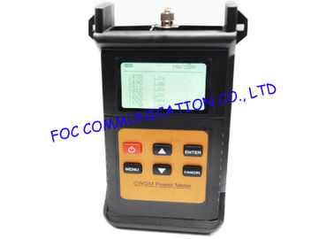Handheld Fiber Optic Test Equipment / CWDM Power Meter For CWDM Systems