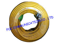 Indoor custom 24 Core Breakout Fiber Network Cable FC / UPC - E2000 / APC SM G.652D