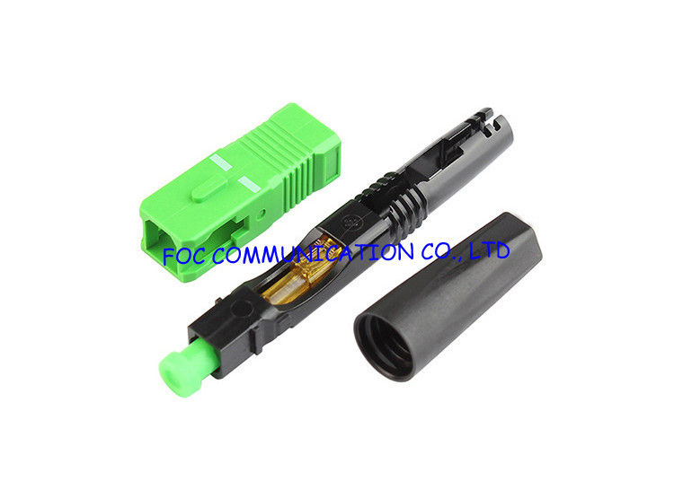 SC Field Installable Fast Fiber Optic Connector SM UPC APC For FTTH