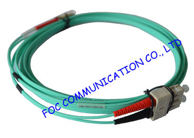 চীন 10Gb OM3 LSZH LC SC Single Mode Fiber Patch Cable For Telecommunication Networks পরিবেশক